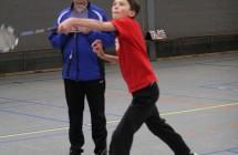 Van klein naar groot, bezeten door badminton (2014)